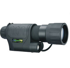 Brand Infrared Night Vision Monocular Binoculars Telescopes 100m IR RG-55 5X50