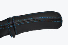 Surpiqûres noir capuche peau de cuir instrument couvrir Fits Triumph TR7 TR8 76-81