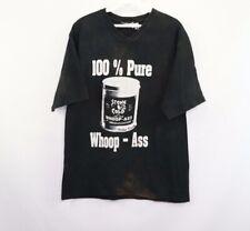 Vintage 90s WWF Mens Medium Stone Cold Steve Austin 100% Pure Whoop Ass Shirt