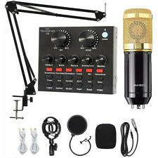 More details for bm800 condenser microphone mic kit with v8x multifunctional bluetooth sound card