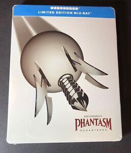 Phantasm Remastered [ Limited Edition STEELBOOK ] (Blu-ray Disc) NEW