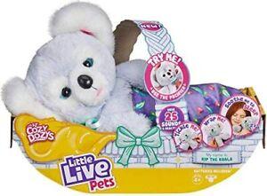 Little Live Pets Cozy Dozy Kip The Koala Bear Soft/Cuddly 25 Sounds Toy