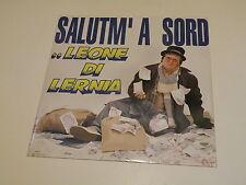 """LEONE DI LERNIA - SALUTM' A SORD/VOGLIO FARE TANTI SOLDI 12"""" MADE IN ITALY 1994"""