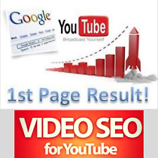 YOUTUBE 1st  First PAGE Video Ranking SEO - Best Seller