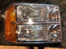 2007 2008 2009 2010 2011 2012 2013 Sierra headlight RH passenger Side