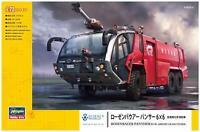 Hasegawa SW05 1/72 Rosenbauer Panther 6 x 6 Airport Crash Tender Building Kit
