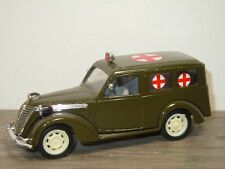 Fiat 1100 Army Ambulance - Brumm Italy 1:43 *35899