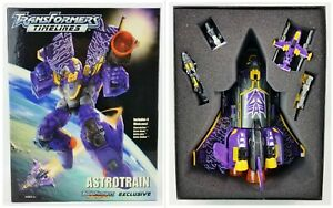 Transformers Timelines Exclusive Astrotrain Action Figure w/ 4 Minicons Hasbro