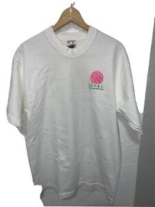 Vintage Oakland Volleyball League Fruit Of The Loom T Shirt Sz large