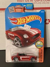 2016 Hot Wheels #24 HW Digital Circuit 4/10 FORD SHELBY COBRA CONCEPT Red Varia