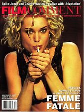 Film Comment November/December 2002 Michael Moore Parker Posey Brian de Palma
