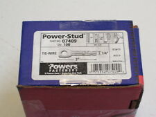 NEW POWERS FASTENERS  07409 POWER STUD EYLET 100PCS P1090