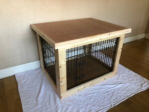 Indoor Dog Kennel based on a 36 inch cage Delivery will depend on post code