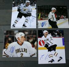Lot of 4 Autographed Dallas Stars 8x10 Photos  Conner Niskanen Grossman Daley