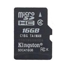 16GB Class 4 Original Kingston MicroSD TF Memory Card Phone whlesale M