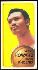 1970 71 TOPPS BASKETBALL TALL BOYS 117 GREG HOWARD EX-NM PHOENIX SUNS NEW MEXICO