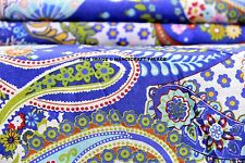 Indian Cotton Fabric Sewing Printed Dressmaking Material Supply By The Yard""