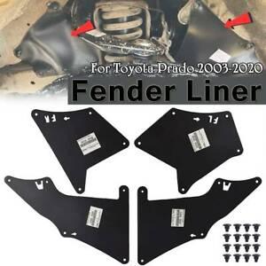 Splash Guards Mud Flaps Fender Liner For Toyota Land Cruiser Prado 03-20