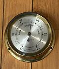 "Seth Thomas Seasprite E335-001 Vintage Weather Barometer 5.5"" Diameter Antique"