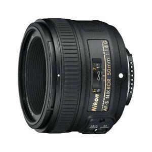 Nikon 50mm f/1.8G F Mount Prime Fixed Portrait Lens - Nikkor AF-S
