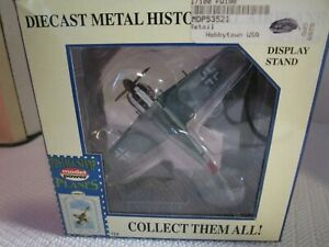 Model Power Postage Stamp Planes No. 5352-1 Focke Wulf 190 NEW with Stand