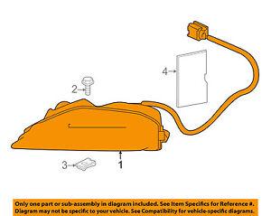 Infiniti NISSAN OEM 15-18 QX80-Turn Signal Light 261355ZA0A
