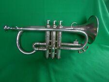 More details for vintage  boosey & co.' solbron class a light valve ' e flat cornet.