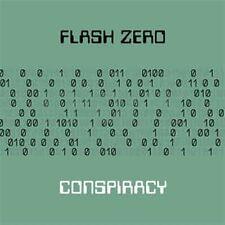 Flash zero CONSPIRACY CD DIGIPACK 2016 ltd.300
