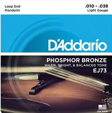 D'Addario EJ73 Mandolin Strings Phosphor Bronze Light 10-38 J73