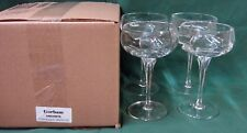Gorham ANDANTE Champagne Sherbet Stems SET OF FOUR Mint in BOX More Available