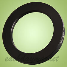 72mm to 52mm 72-52mm 72mm-52mm 72-52 Stepping Step Down Filter Ring Adapter