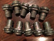 """Bridgeport 520Dc Screw In Connector 1/2"""" Flexible Metal Conduit Lot Of 10 pcs"""