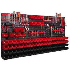 101 Stapelboxen Wandregal Werkzeugwand XXL 173 x 78 cm Werkzeughalter Werkstatt