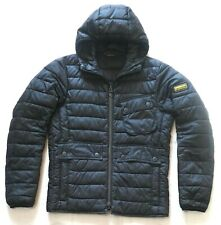 "BARBOUR INTERNATIONAL JACKET - SMALL -  "" OUSTON ""  HOODED QUILT STYLE -  £195"