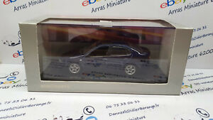 Seat Toledo bleue - minichamps 1:43 eme avec boite plexi + suremballage ( neuf )