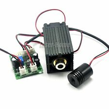 650nm 100mw Red and 532nm 30mw Green 12V Focusable Laser Dot Diode Module w/ TTL