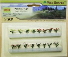 """Wee Scapes 00304, Petunias, 3/8"""" 12pk"""