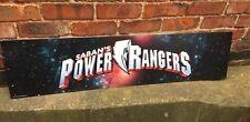 Power Rangers Promo Advertising Display Wall Art Kid Room Card Cave Saban's R Us
