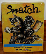 SNATCH PIGS AND DIAMONDS LIMITED STEELBOOK BLU-RAY NEW SEALED SPANISH R2