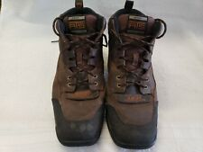 Ariat Mens Size 12 Terrain Wide Square Boot Distressed Brown Full Grain Leather