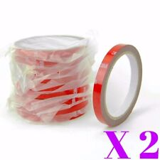 """2 x 3M Double Side Adhesive Mounting Tape 106"""" x 0.4"""" For Emblem Badge Visor"""