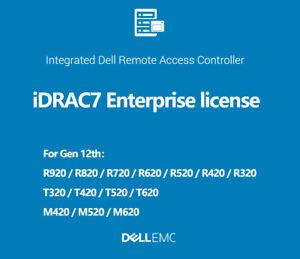 IDRAC7/8/9 Enterprise License Permanent idrac for PowerEdge 12th 13th 14th 15th