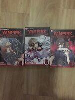 Vampire Knight Vol 4,5,8 Shojo Beat Manga English