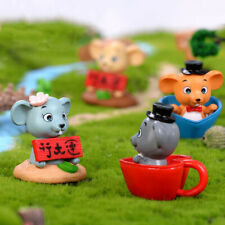 Lucky Rat Diy Mini Miniature Fairy Garden Ornament Craft Dollhouse Accessor Xe