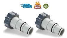 Pool Filter Pump Chlorine Hose Adaptor 2 Pack Generator Replacement Accessories