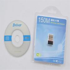 Wireless USB Adapter LAN Wifi Dongle for XP/Vista/Window 802.11 b/g/n 150Mbps U1