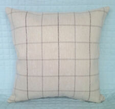 "Cushion Cover/16""x16""/John Lewis ROBERT CHECK Fabric double sided"