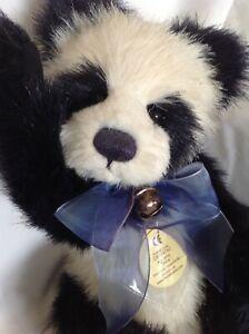"""Charlie Bears Plush Panda """"Trixie"""""""