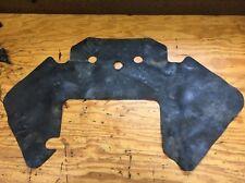 03-06 Honda CBR 600RR OEM Rubber Engine Heat Shield Dust Cover