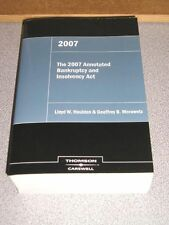 $200 - 2007 Annotated Bankruptcy and Insolvency Act - Thomson / Carswell NEW